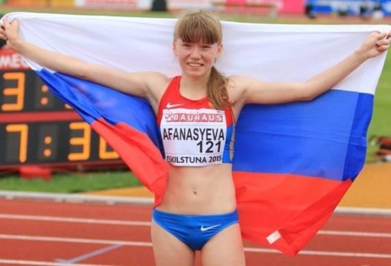 Афанасьева — чемпионка Европы!