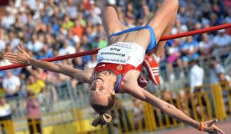 «Русская зима»: прыжки в высоту, женщины