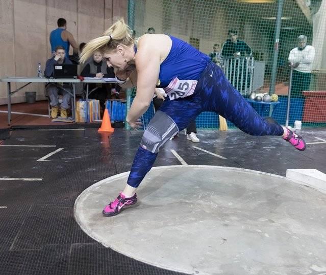 Чемпионат России: толкание ядра