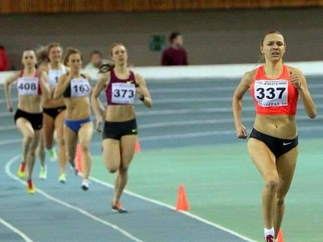 Чемпионат России: бег на 1500 м