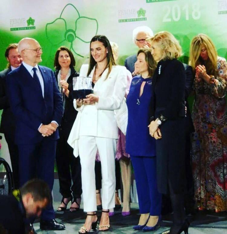 Елена Исинбаева: опять лучшая!