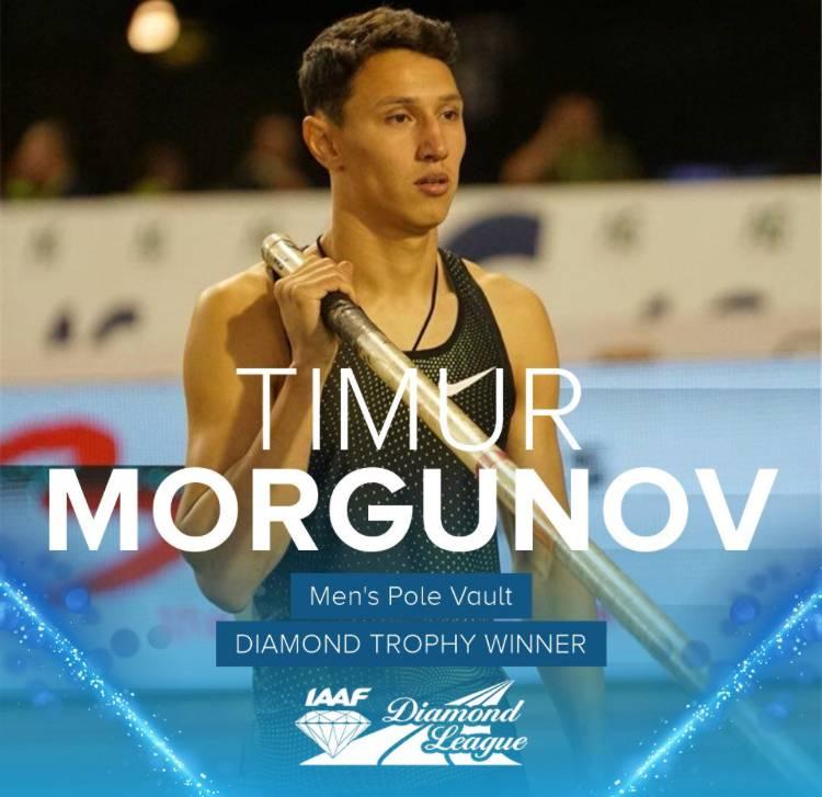 Моргунов: 5.93 м и победа в Брюсселе