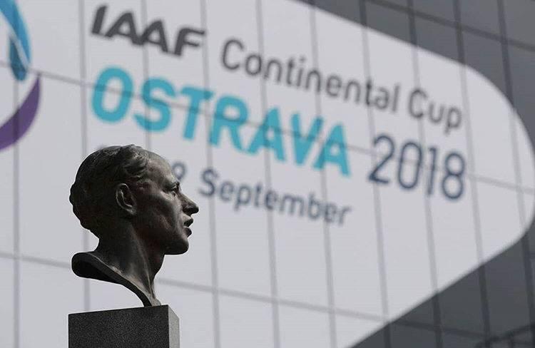 Континентальный кубок ИААФ в Остраве