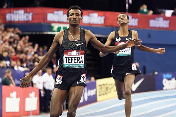 1500 м: мировой рекорд Теферы