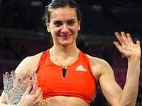 Елена Исинбаева устанавливает еще один рекорд