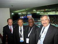 Переговоры с членами Совета IAAF в Бирмингеме