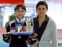 Татьяна Лебедева в 13 лет так далеко не прыгала
