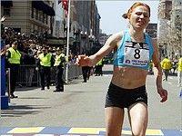 Биктимирова в двух секундах от победы в Бостоне