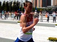 Первая российская золотая медаль в легкой атлетике!