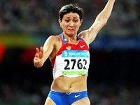 Татьяна Лебедева – серебро в прыжке в длину