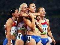 Россиянки побеждают в эстафете 4х100 м