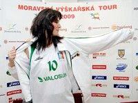 Сарка Каспаркова дебютировала в баскетболе