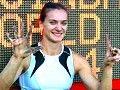 Елена Исинбаева устанавливает новый мировой рекорд — 4,95!