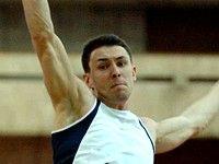 Руслан Гатауллин — первый в прыжке в длину