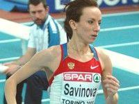 Савинова и Зброжек в полуфинале бега на 800 м