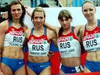 Россиянки побеждают в эстафете