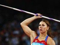 Мария Абакумова – первая в метании копья