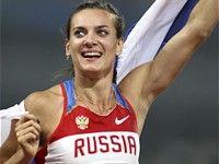 Елена Исинбаева: «Мечтаю выступить в Москве»