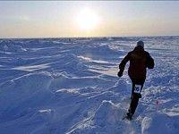 Евгений Горьков выиграл марафон на Северном полюсе