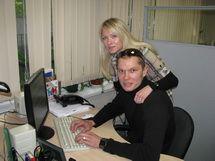 Состоялась интернет-конференция с Анной Альминовой и Виктором Чистяковым!