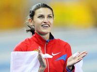 Анна Чичерова в тренировочном режиме