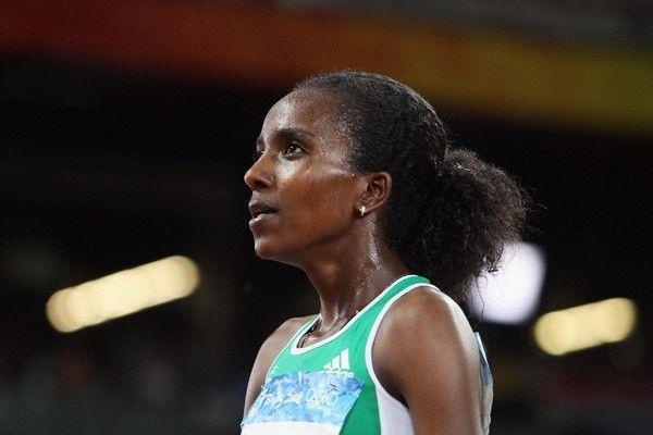 Дибаба установила мировой рекорд в беге на 15 километров