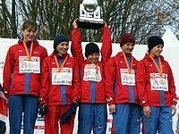 Женская сборная России — чемпион Европы по кроссу