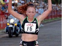 Олеся Нургалиева первая в Гонолулу