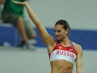 Олимпийский огонь Исинбаевой