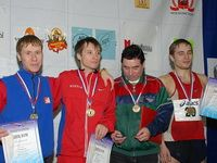 Три призера на сверхдлинной дистанции