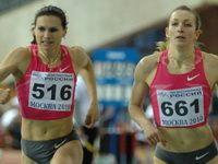 Две победительницы в беге на 400 метров