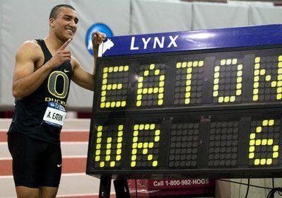 Мировой рекорд в семиборье