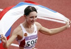 Екатерина Блескина – чемпионка