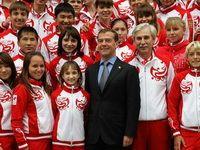 Встреча Дмитрия Медведева с победителями ЮОИ