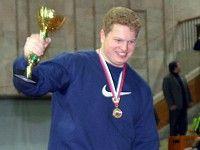 Антон Любославский — молодежный рекорд России в толкании ядра