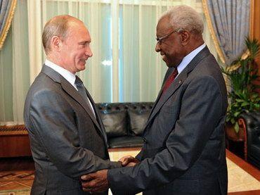 Президента ИААФ принял премьер-министр России