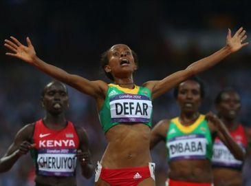Дефар – олимпийская чемпионка