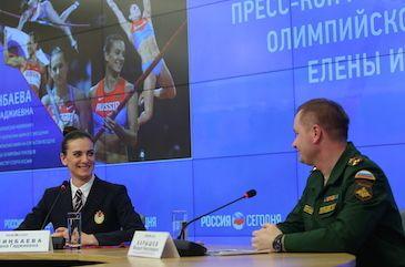 Елена Исинбаева в рядах ЦСКА