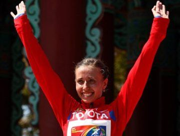 Каниськина – трехкратная чемпионка мира!