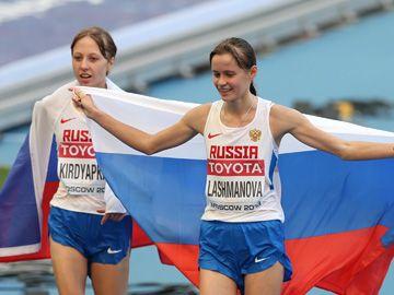 Лашманова и Кирдяпкина – золото и серебро!