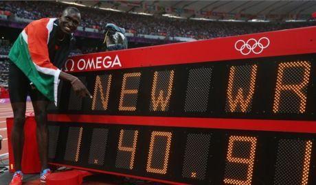 Мировой рекорд Рудиши!