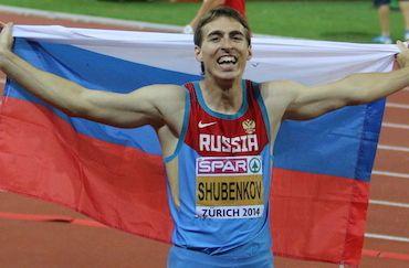 Шубенков защитил звание чемпиона Европы!