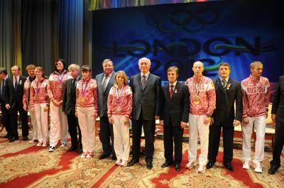 Чествование мордовских спортсменов