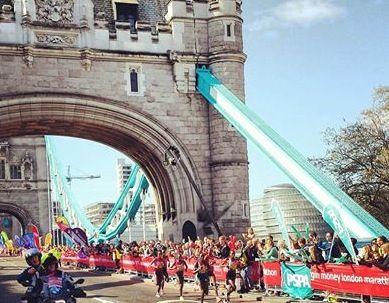 Лондонский марафон. Женщины
