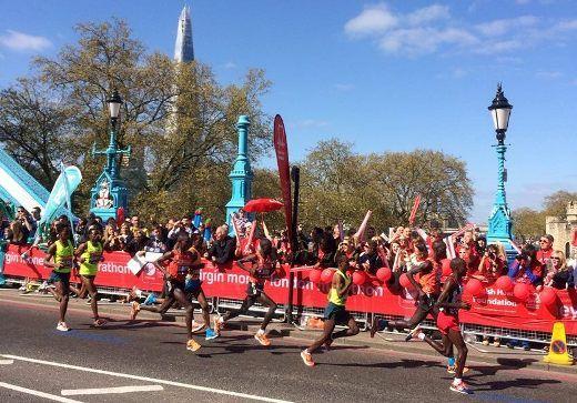Лондонский марафон. Мужчины