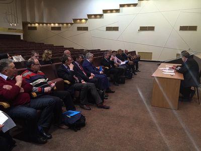 Заседание Президиум ВФЛА