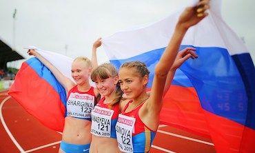 Российский пьедестал
